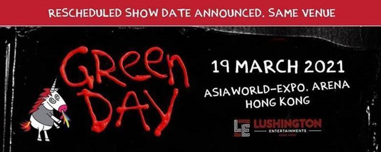 GREEN DAY – LIVE IN HONG KONG