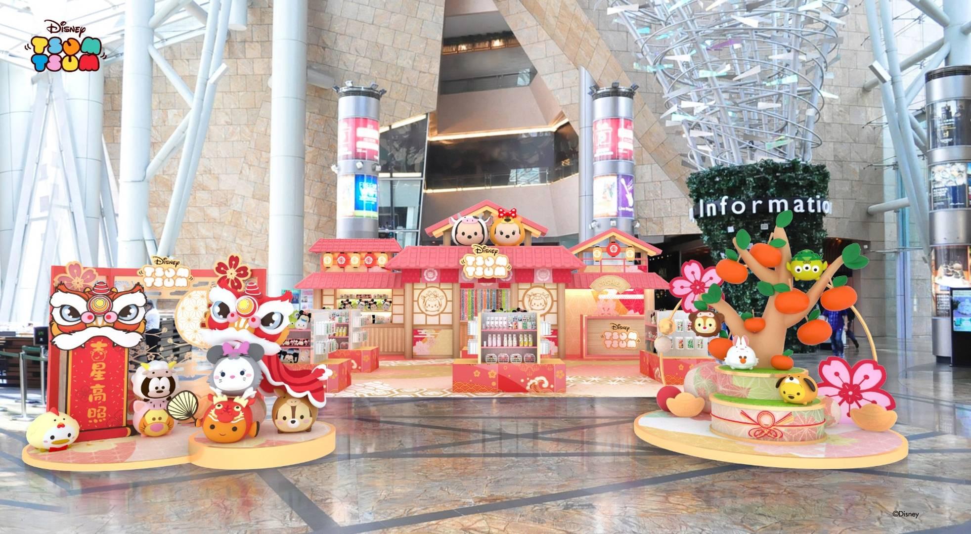 迪士尼TSUM TSUM 春日園遊會