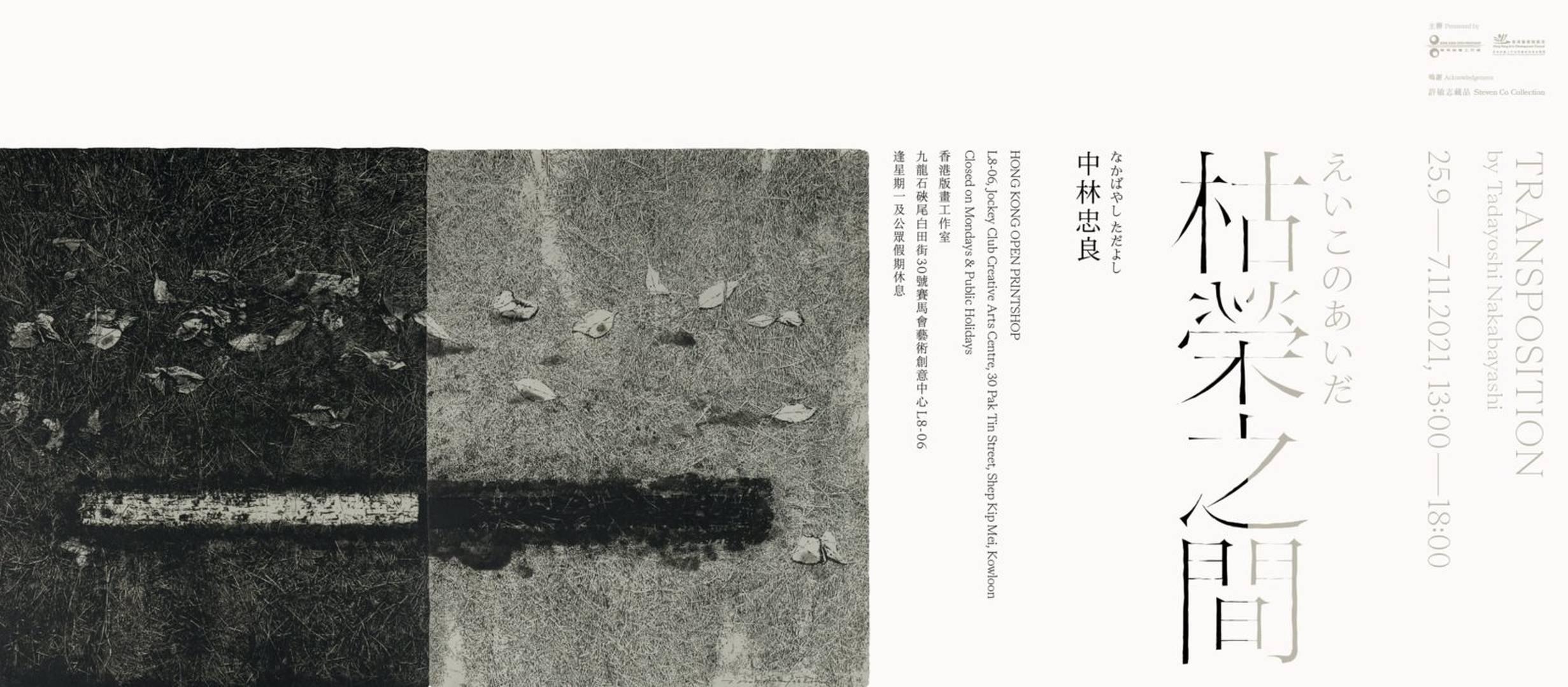 《中林忠良:枯榮之間》 展覽